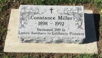 Bevel Markers Miller, Constance Installed Picture 4-10-19 (edited)