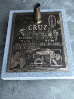 Bronze Memorials Cruz Monument (7-26-17)