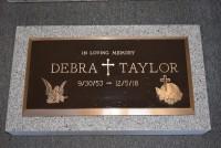 Bronze Memorials Taylor, Debra picture 3-29-19