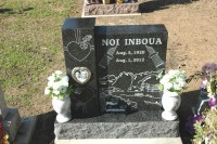 Custom Monuments Installed Inboua Monument (2-14-13)