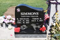 Custom Monuments Simmons Family Install Pic 6-16-18