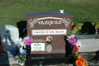 Upright Monuments Vasquez Completion Photo